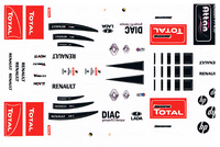 Attan Renault F1 R30 2010 Decals  ATTN 2010