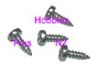 "#0 x 3/16"" Pan head screw  HP 0216"