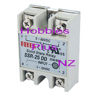 Solid State Relay 25Amp  HP SSR-25DD