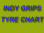 Indy Grips Tyre Chart