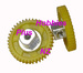 41 Tooth 72 Pitch Spur Gear  JK 72412